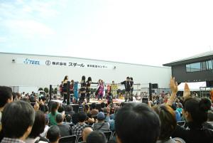 鉄鋼団地お祭り女子プロレス