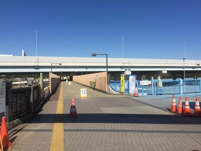舞浜駅北口歩道橋