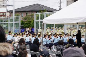 浦安鎌ヶ谷線開通式北方小学校演奏