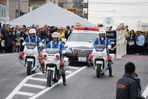 浦安鎌ヶ谷線開通式行進