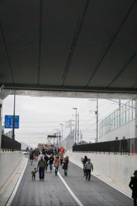 浦安鎌ヶ谷線京成本線アンダーパス