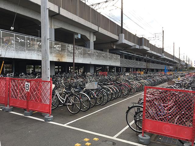 新浦安駅第2自転車駐車場