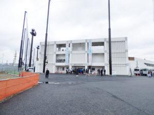 舞浜運動公園野球場入口