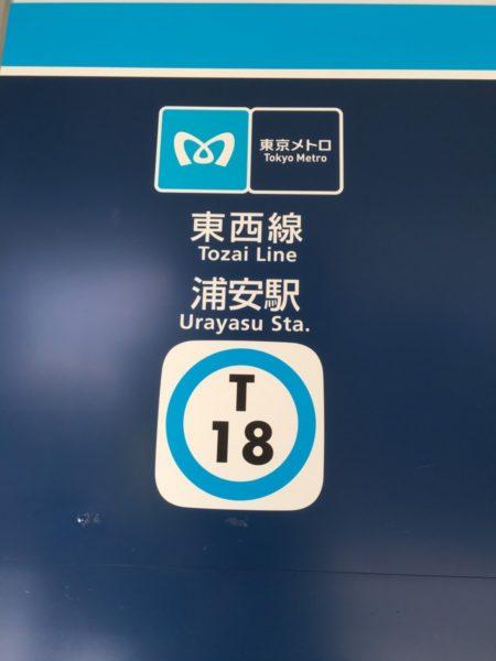 浦安クイズ浦安駅2