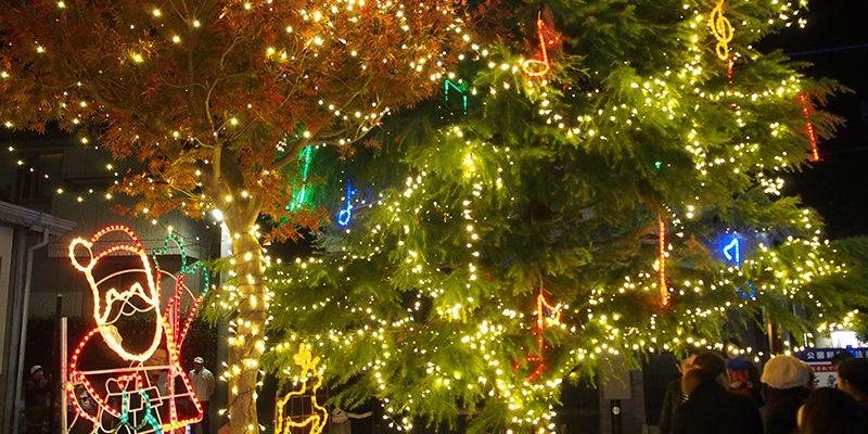 堀江フラワー通りのイルミネーション点灯式、今年も行ってきました! ライトアップは今月25日まで☆