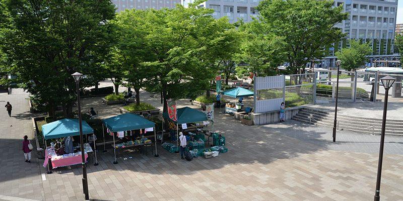 新浦安駅前広場にマルシェが帰ってきました! | 浦安に住みたい!web